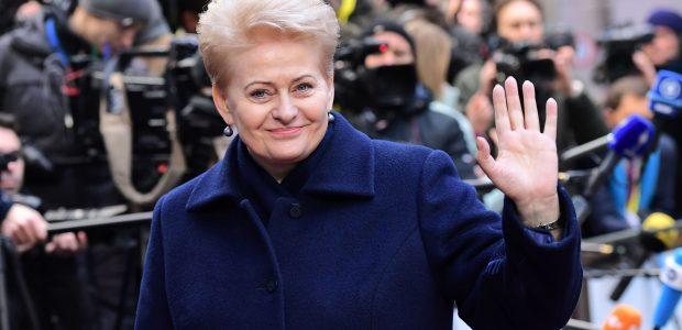D. Grybauskaitė: dėl situacijos Rytų Ukrainoje sankcijos Rusijai turi plėstis