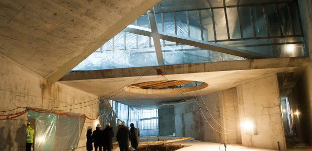 MO muziejus žengė dar vieną svarbų žingsnį finišo link