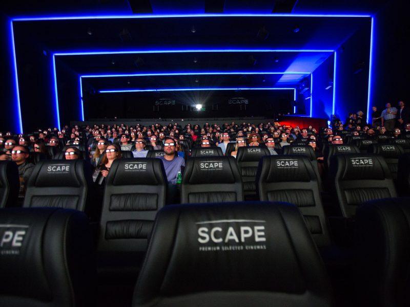 Naujos kino salės pristatymas