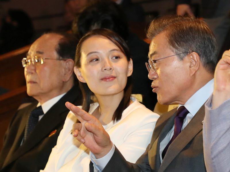 Šiaurės Korėjos lyderio sesers vizitas – Pietų Korėjos dėmesio centre