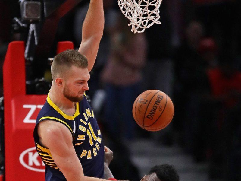 """Puikaus D. Sabonio žaidimo """"Pacers"""" pergalei nepakako"""