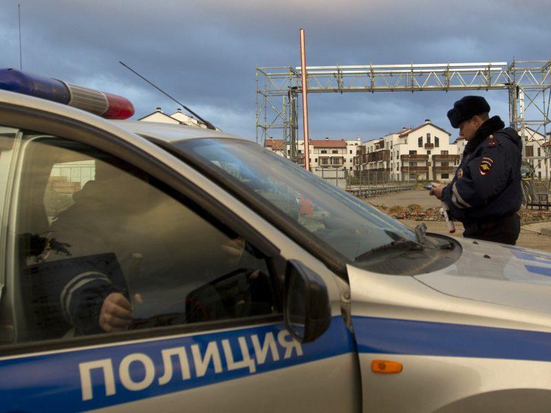 Rusija skelbia užkirtusi kelią išpuoliui prezidento rinkimų dieną