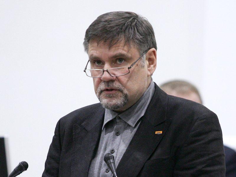 Nuo liberalų Vilniuje atsiskyręs V. Martikonis išmestas iš partijos