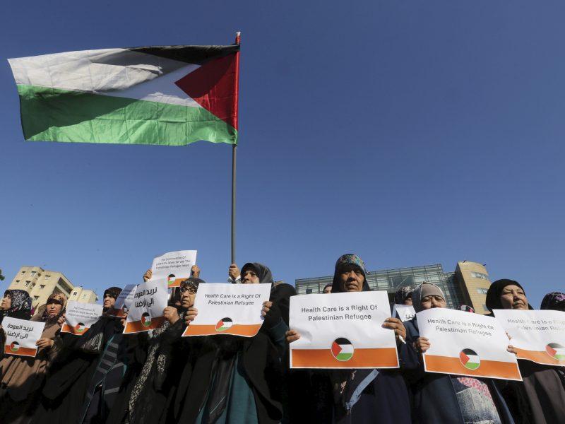 Lietuva skyrė 20 tūkst. eurų Palestinos pabėgėliams