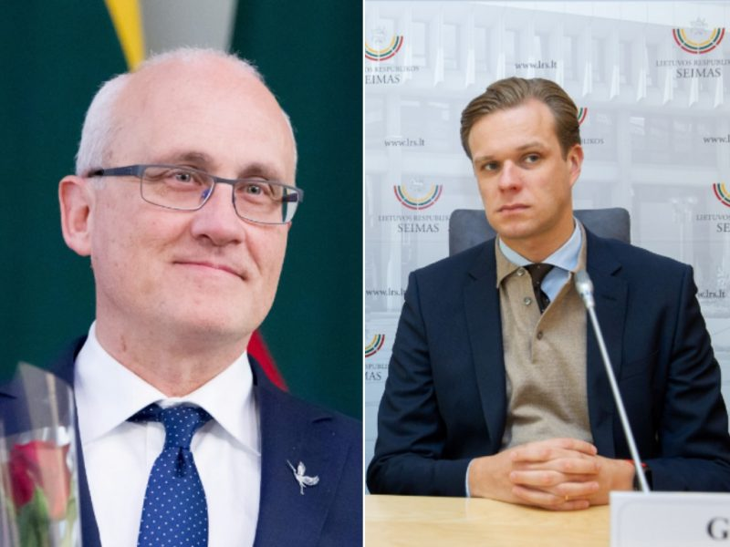S. Jakeliūnas prašo įvertinti G. Landsbergio lobistinę veiklą