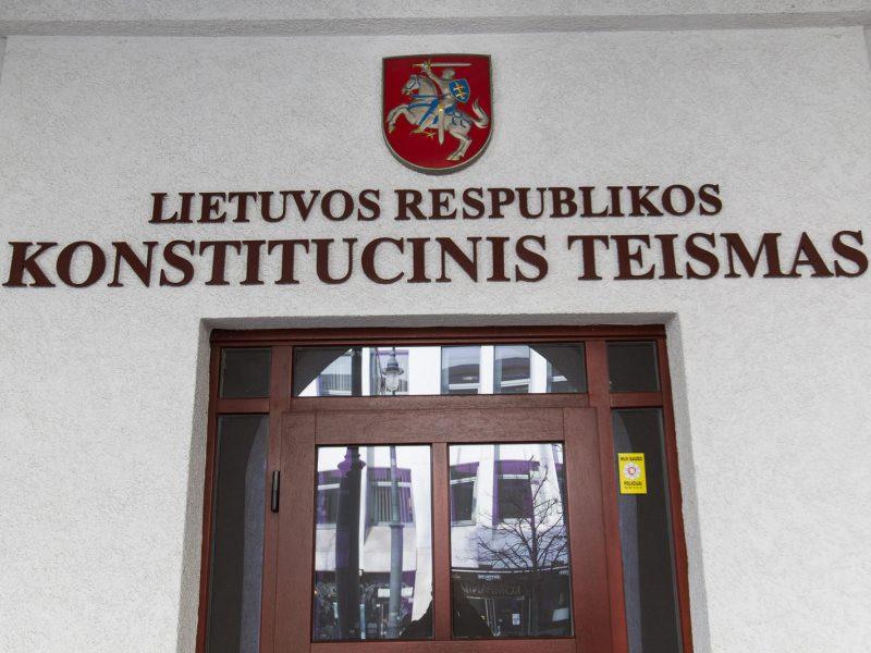 Dėl Referendumo įstatymo kreipiamasi į Konstitucinį Teismą