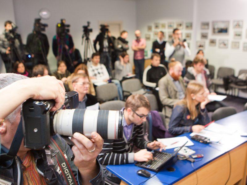 JAV Baltijos šalyse organizuos žurnalistų mokymus propagandai atremti