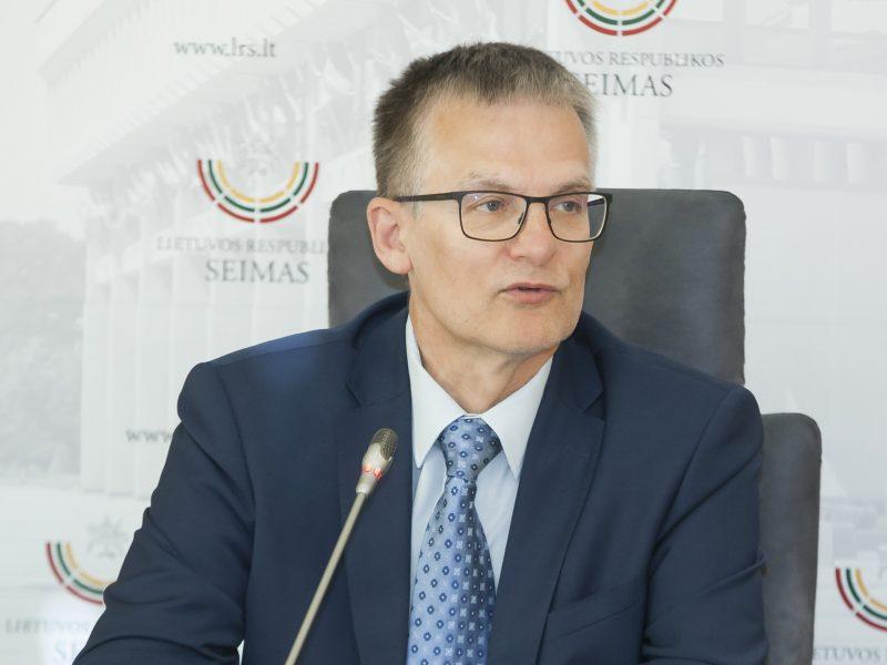 J. Sabatauskas nori įpareigoti premjerą siūlyti naują ministrą per 15 dienų