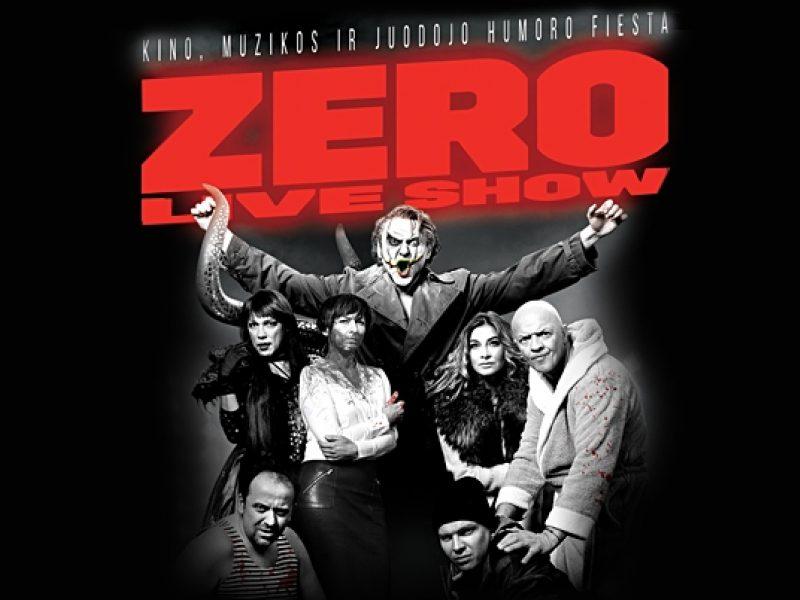 """""""Siemens"""" arenoje – juodojo humoro """"Zero Live Show"""" šėlionės"""