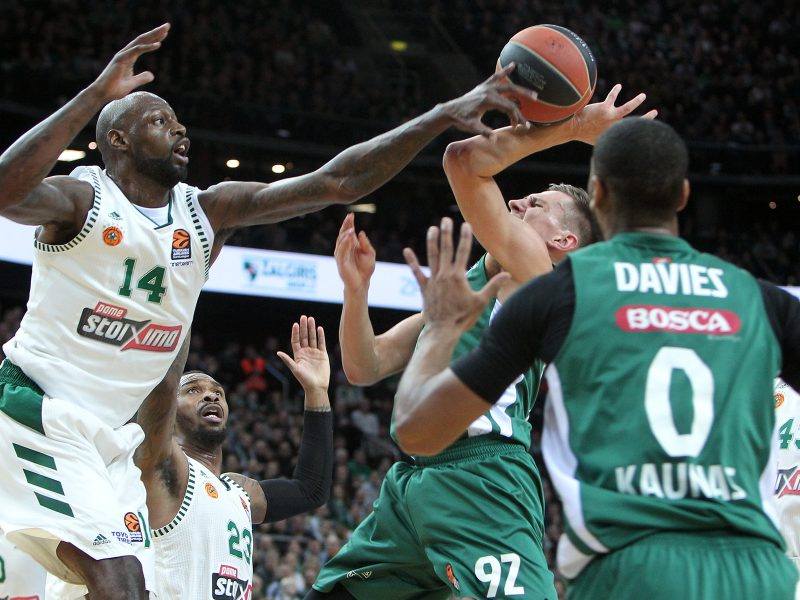 "Eurolyga: ""Žalgiris"" – ""Panathinaikos"" 82:69"