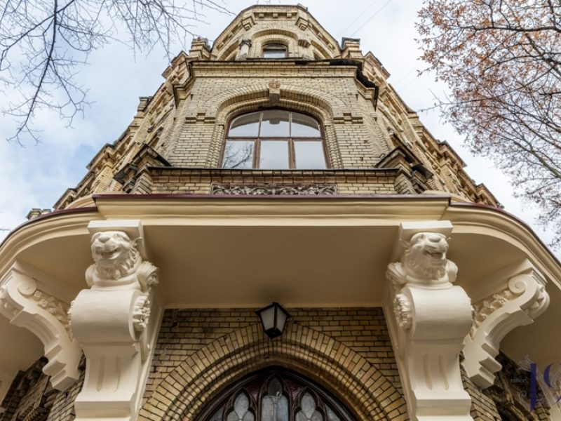 """Vilniuje parduotas išskirtinis pastatas, kuriame įsikūręs  """"Vaidilos"""" teatras"""