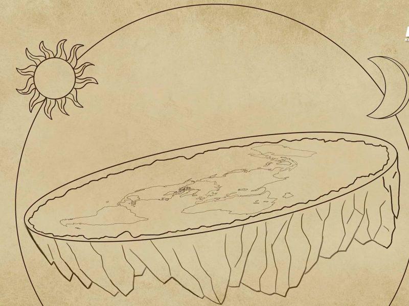 Kas būtų, jei Žemė būtų plokščia?