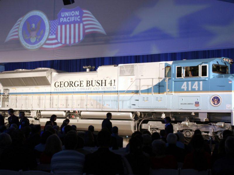 JAV prezidento laidotuvių traukinys važiuos pirmą kartą po beveik 50 metų