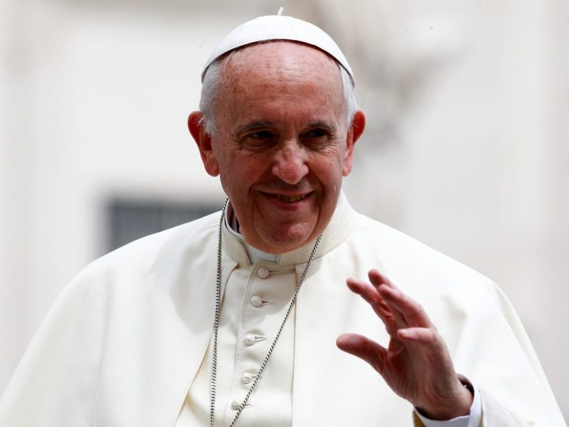 Popiežius tikisi, kad Pasaulio futbolo čempionatas pasitarnaus dialogui ir taikai