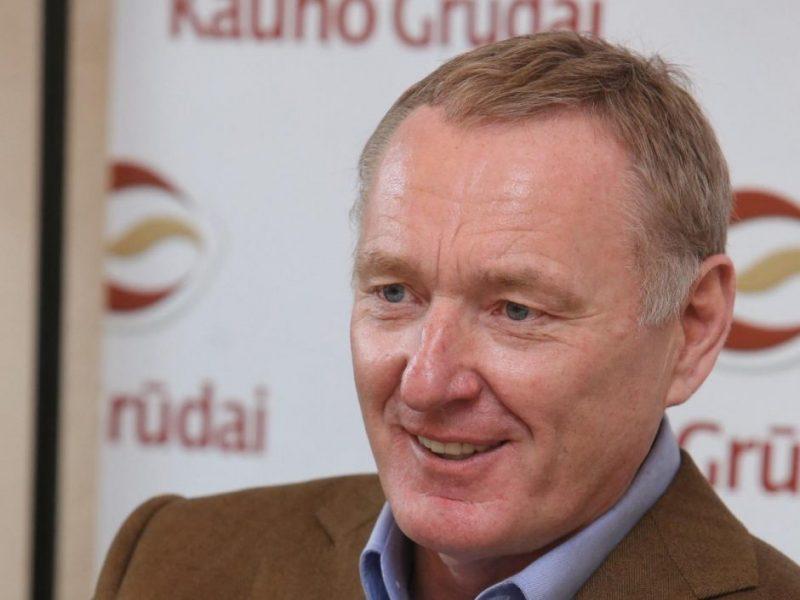 """T. Barštys: derybos su """"KG Group""""  pirkėjais vyksta"""