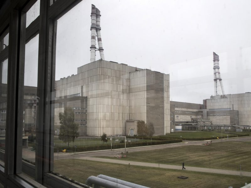 Vyriausybė pritarė Ignalinos AE eksploatavimo nutraukimo darbų programai