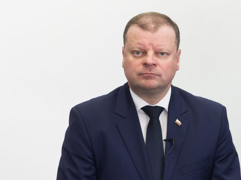 S. Skvernelis: Lietuvos futbolui reikia atgimimo