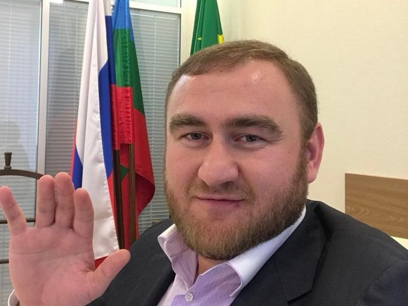 Rusijos senatorius sulaikytas už dvi žmogžudystes