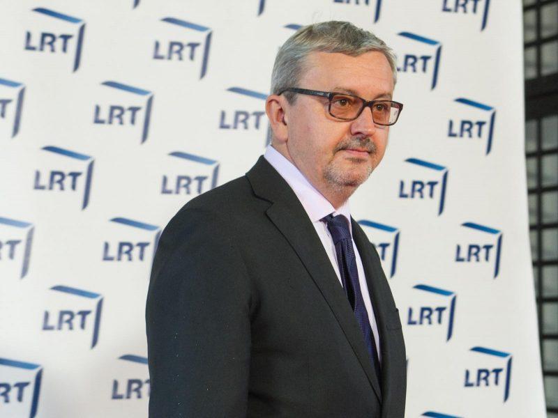 LRT vadovo rinkimų antrame rinkimų ture dalyvavo trys kandidatai