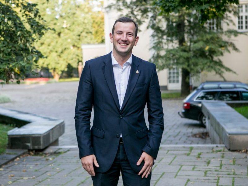 V. Sinkevičius: einu prisipažinti, kad esu ūkio ministras