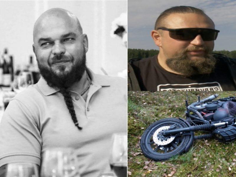 Policija: baikerio nužudymo byloje – keturi įtariamieji