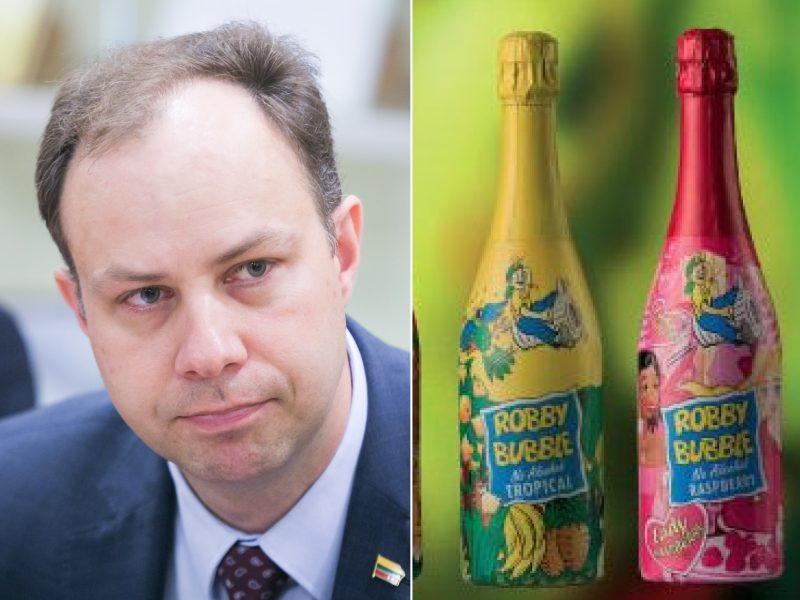 A. Veryga paaiškino, kodėl vaikiškas šampanas yra blogis