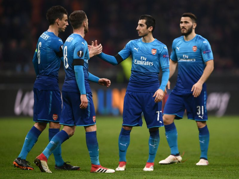 """Europos lyga: """"Arsenal"""" žengė svarbų žingsnį link ketvirtfinalio"""