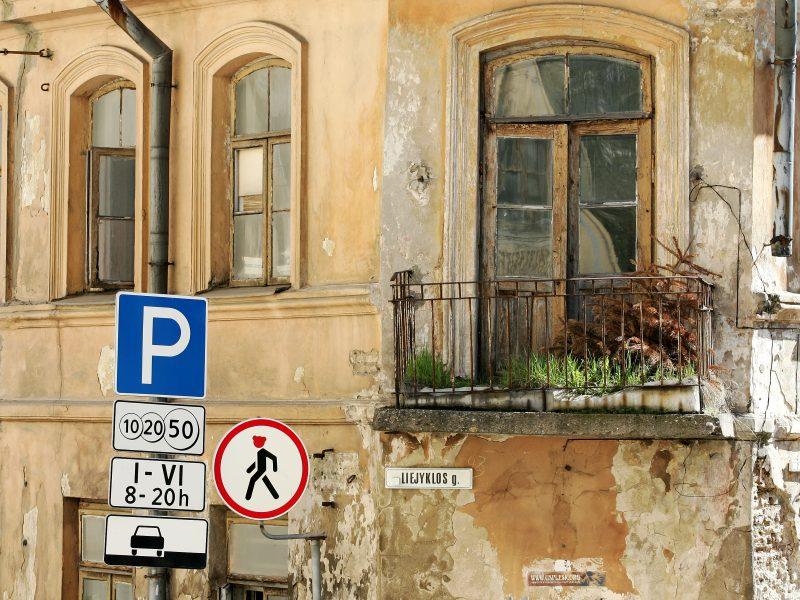 Už pastatą sostinės Liejyklos gatvėje aukcione pasiūlyta 1,8 mln. eurų