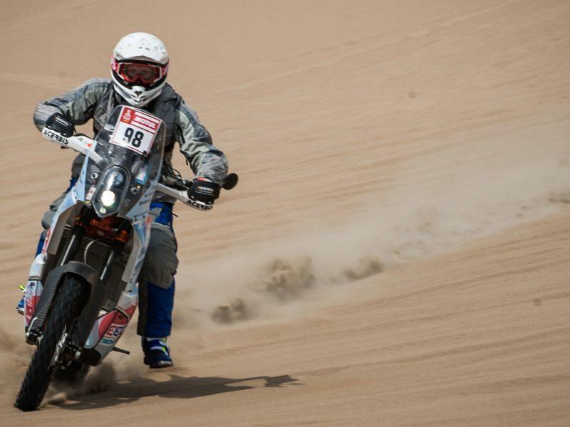 Dviejų valandų baudą B. Bardauskas priėmė kaip Dakaro pamoką