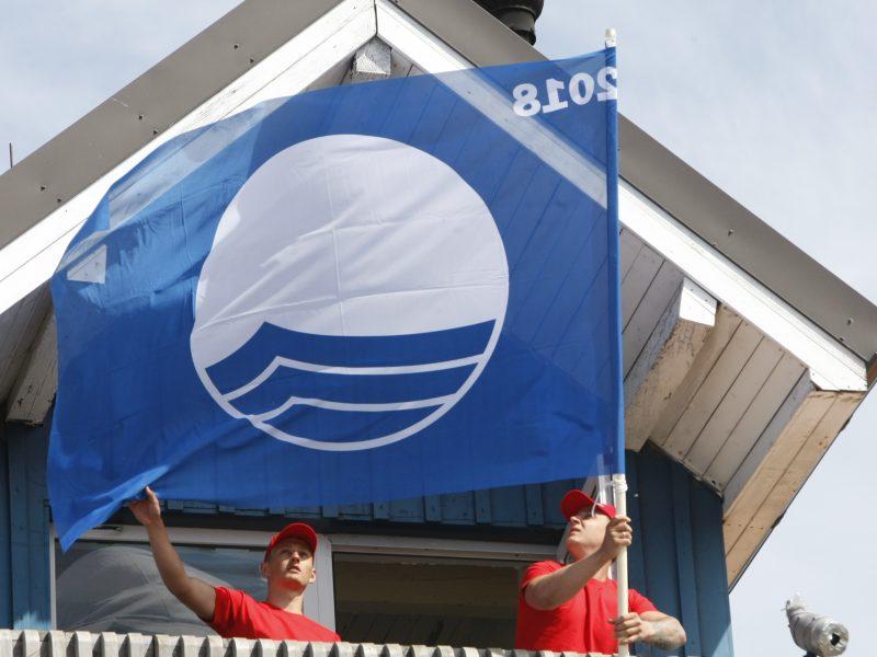 Už mėlynąją vėliavą – 10 tūkst. eurų