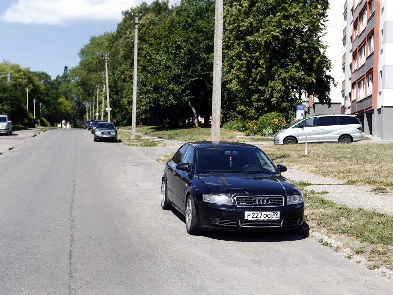 Prašys nepalikti automobilių Klaipėdos gatvėse