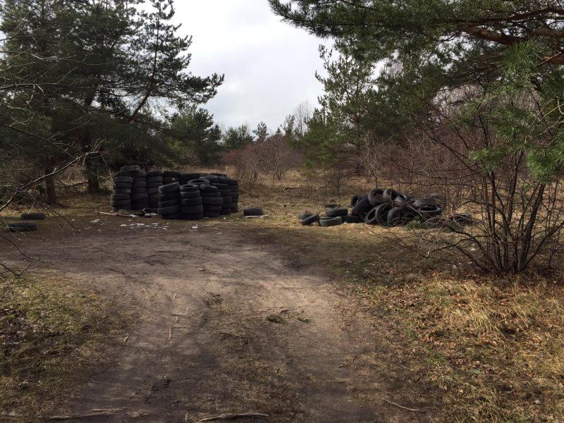 Prie Kuršių marių – atliekų kalnai
