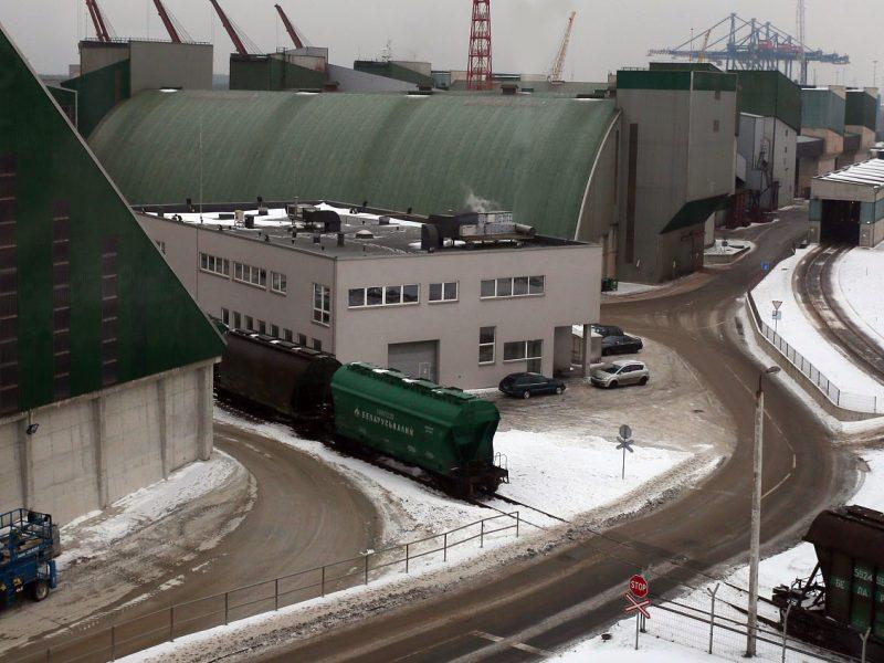 Lietuva gali netekti baltarusiškų krovinių?