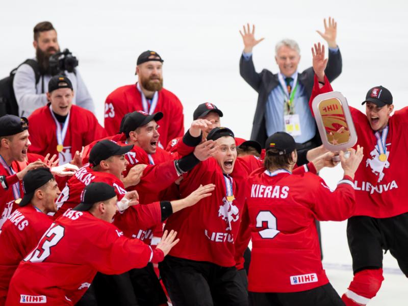 """""""Hockey Lietuva"""" pretenduoja rengti tris pasaulio čempionatus"""