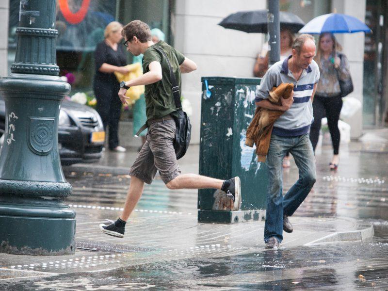 Mažiau lietaus bus nebent ketvirtadienį