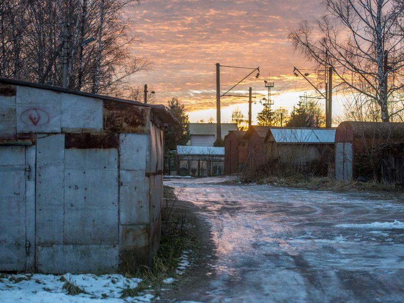 Kauniečių garažai pavirs metalo laužu