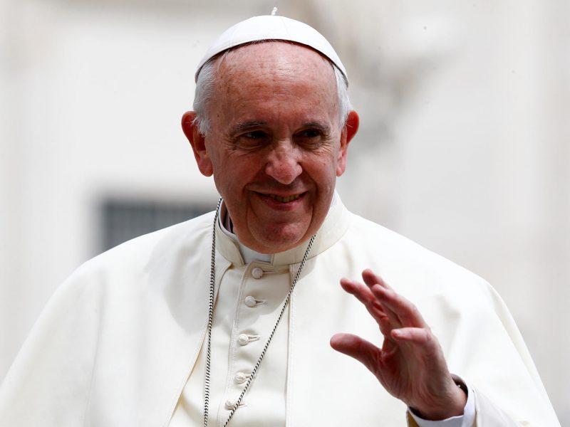 Popiežius Pranciškus sausį lankysis Čilėje ir Peru