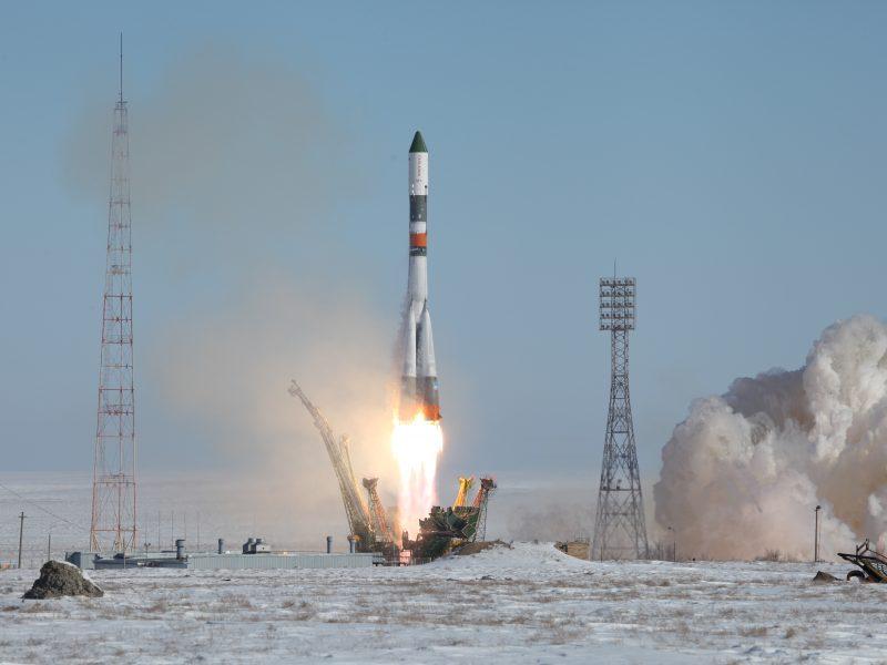 Po atidėto starto Rusija paleido į TKS krovinių kapsulę