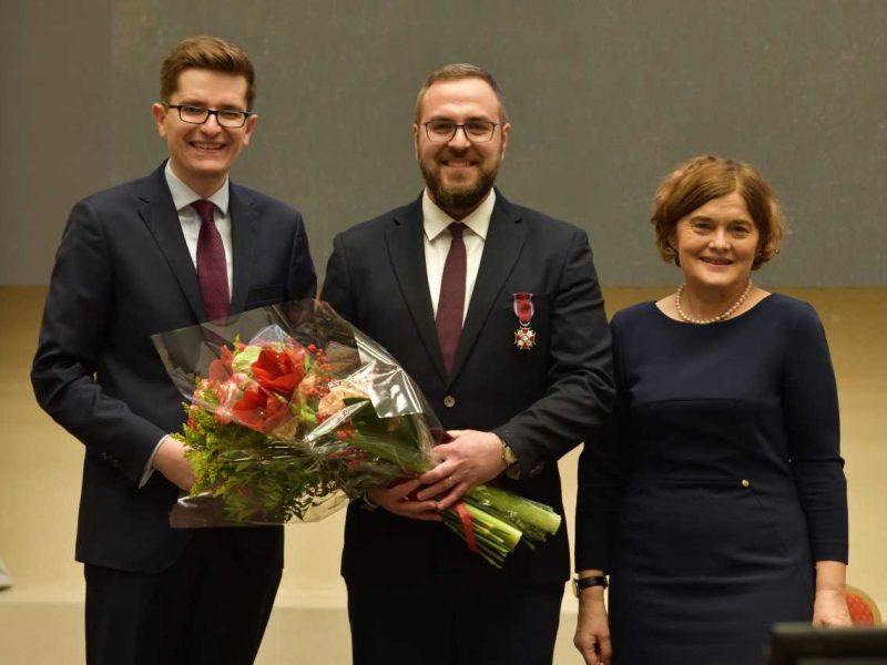 Valdovų rūmų muziejaus darbuotojui – Lenkijos valstybinis apdovanojimas