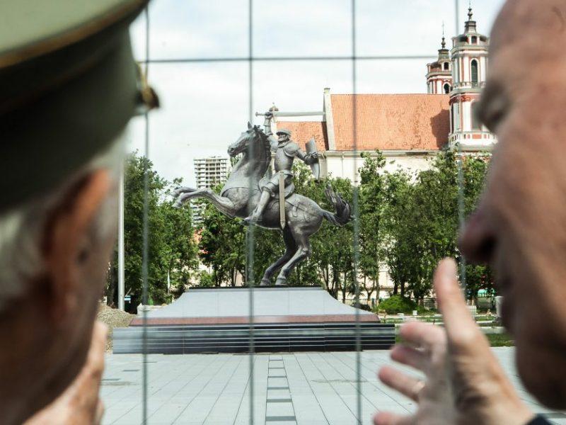 Kauniečiai sprendžia, kur stovės Vyčio skulptūra: prasidėjo balsavimas