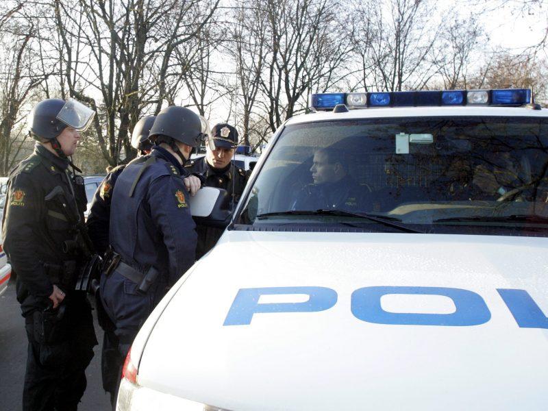 Norvegijos policija gavo siuntinį su sprogstamuoju užtaisu