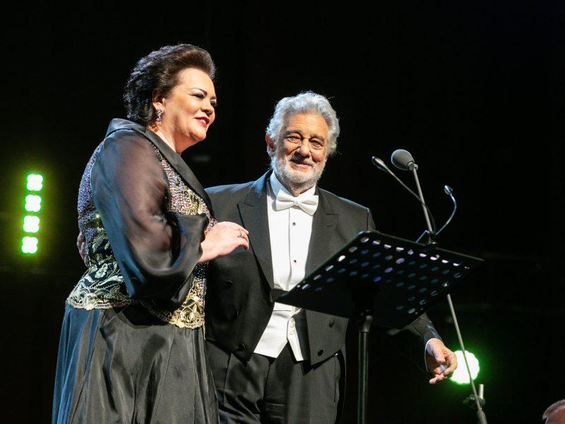 Operos karaliaus Placido Domingo koncertas Kaune