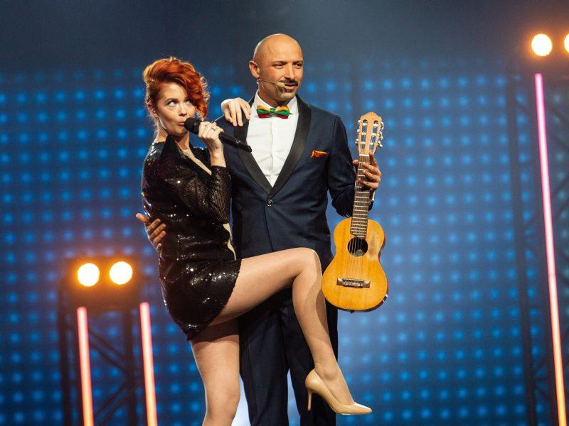 """Antrasis """"Eurovizijos"""" nacionalinės atrankos pusfinalis"""