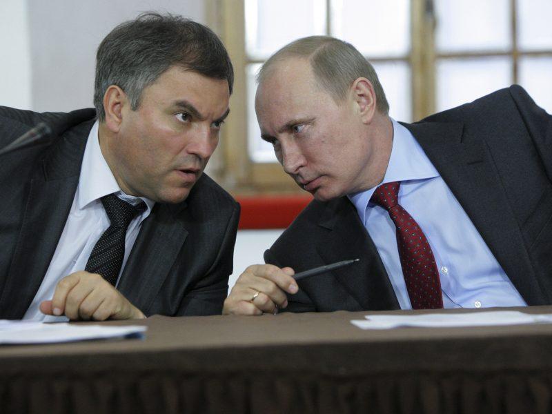 Rusijos parlamento pirmininkas: Maskva turės teisę nevykdyti EŽTT sprendimų