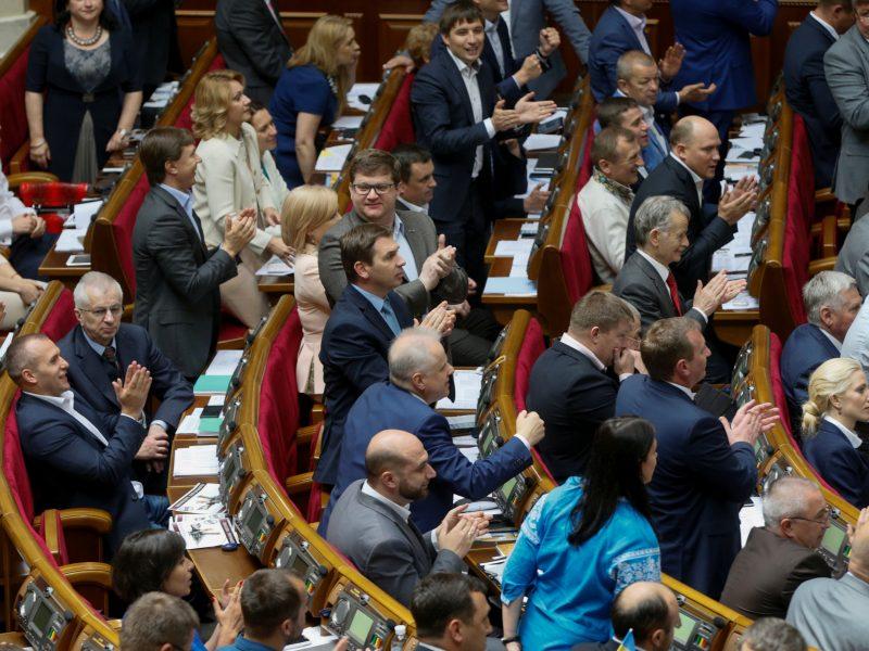 Ukraina stumia rusišką muziką iš savo eterio