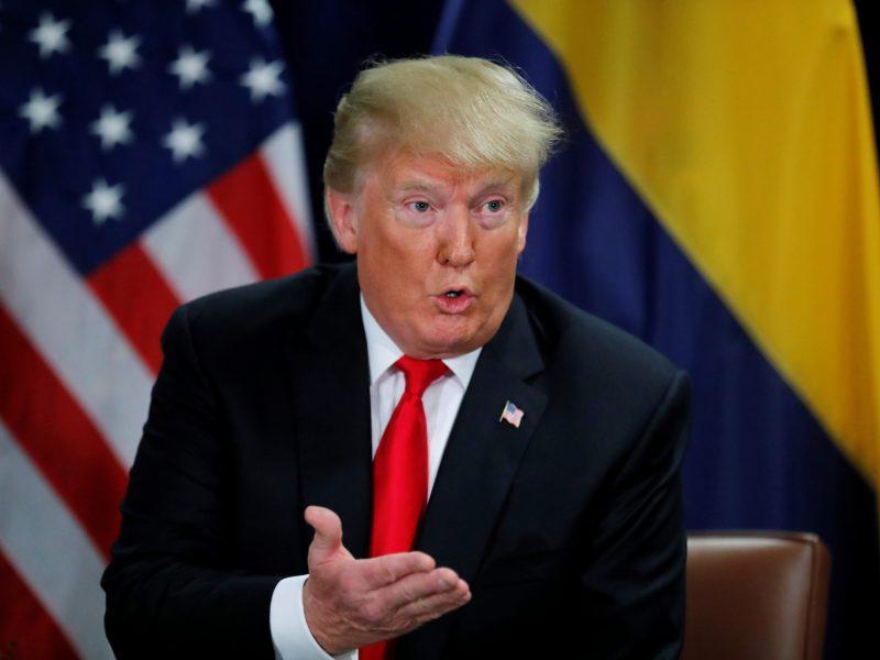 D. Trumpas patvirtino planus siekti antros kadencijos JAV prezidento poste
