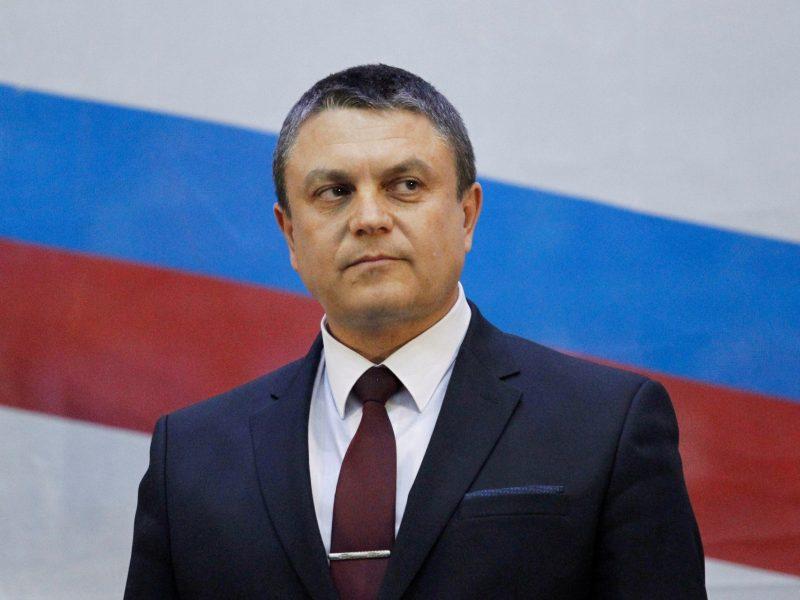 Luhansko separatistų lyderiu išrinktas L. Pasečnikas