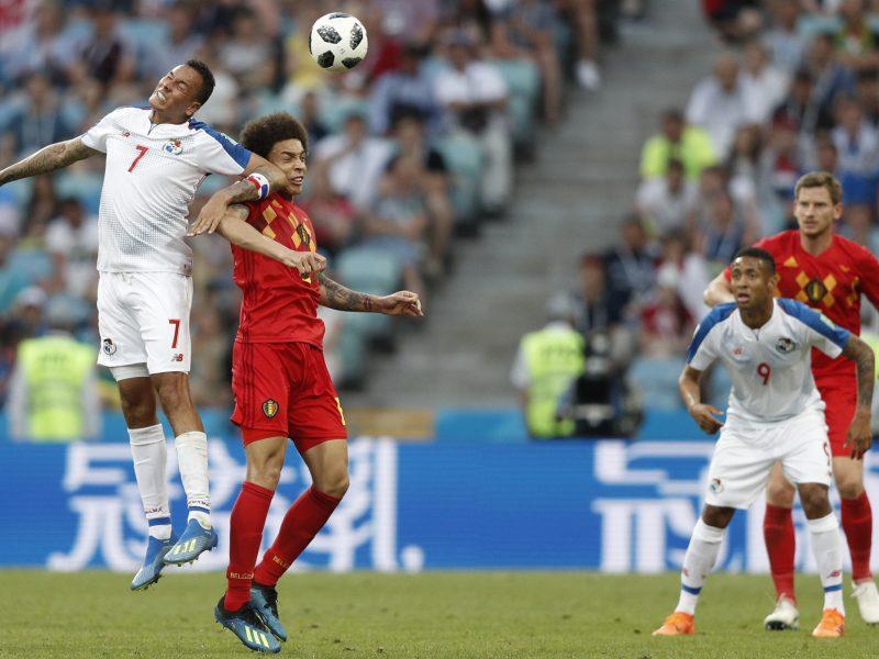 Belgijos futbolininkai užtikrintai nugalėjo Panamą
