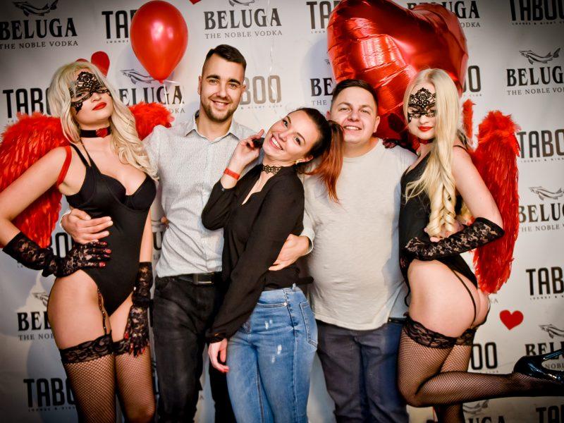 """Valentino dieną kauniečiai šventė """"Taboo"""" klube"""