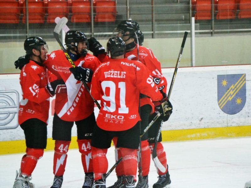 """Elektrėnų """"Energija"""" įveikė Vilniaus """"Hockey Punks"""" ledo ritulininkus"""